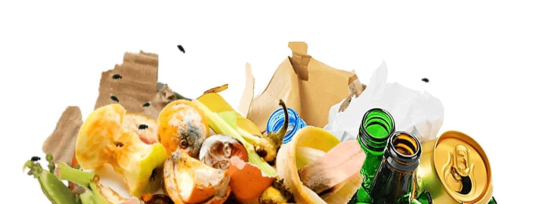 Garbage in the kitchen