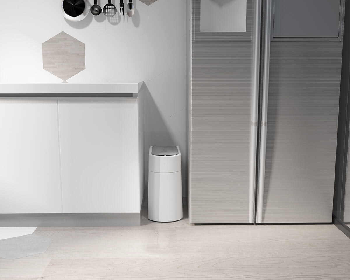 T3 smart garbage can